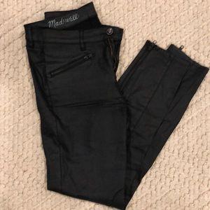 Madewell coated skinny jean